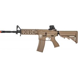 G&G Combat Machine Raider AEG Rifle w/ Battery and Charger - TAN