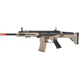 ICS CXP APE Long Barrel Two-Tone EBB Airsoft AEG - BLACK/TAN