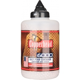 Copperhead 6000Rd .177 Cal. Copper Coated BBs - COPPER
