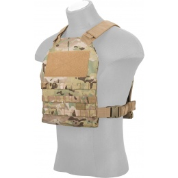 Lancer Tactical Standard Issue 1000D Nylon Tactical Vest (Camo)