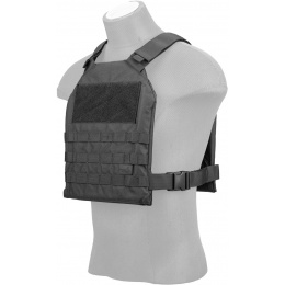 Lancer Tactical Standard Issue 1000D Nylon Tactical Vest (Black)