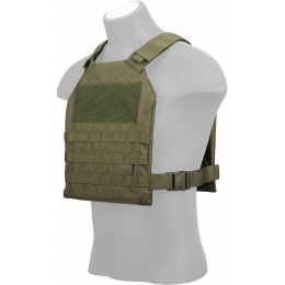 Lancer Tactical Standard Issue 1000D Nylon Tactical Vest (OD Green)
