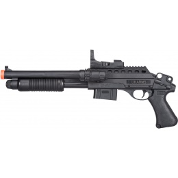 UK Arms M0581A Tactical Pump Action Spring Shotgun - BLACK