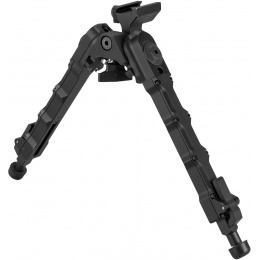 Atlas Custom Works Adjustable 20mm SR-5 Airsoft Bipod - BLACK