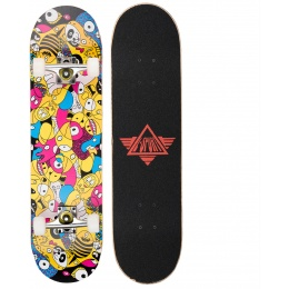 L-Sport Wild Faces Complete Skateboard (8.0