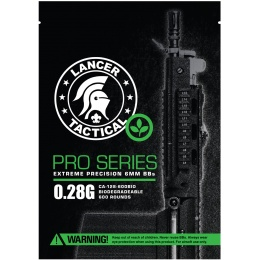 Lancer Tactical Pro series Grade .28G BBs | Airsoft Megastore
