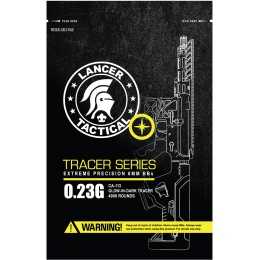 Lancer Tactical Pro Series 4000 Round Airsoft Tracer BBs 0.23g