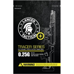 Lancer Tactical Pro Series 4000 Round Airsoft Tracer BBs 0.25g