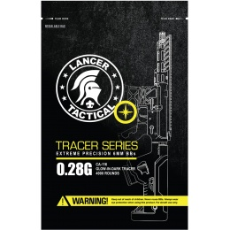 Lancer Tactical Pro Series 4000 Round Airsoft Tracer BBs 0.28g