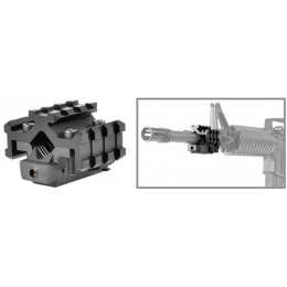 NcStar Tactical Red Laser Sight - with Universal Tri-Rail Barrel Mount