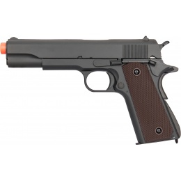 Double Bell M1911 Gas Blowback Airsoft Pistol - BLACK