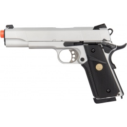 Double Bell MEU GBB Gas Blowback Airsoft Pistol - SILVER