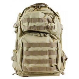 NcStar Tactical MOLLE Backpack - Desert Tan