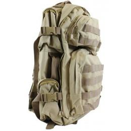 NcStar Tactical MOLLE Backpack - Desert Tan