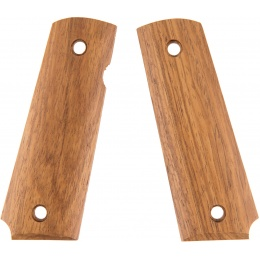 Double Bell M1911 Real Wood Airsoft Pistol Grip Plates
