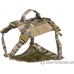 AMA Mesh Adjustable Tactical Dog Vest - CAMO