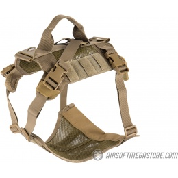 AMA Mesh Adjustable Tactical Dog Vest - TAN