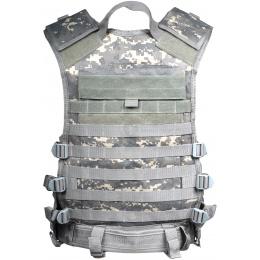 NcStar MOLLE / PALS Modular Tactical Vest - Army Digital ACU