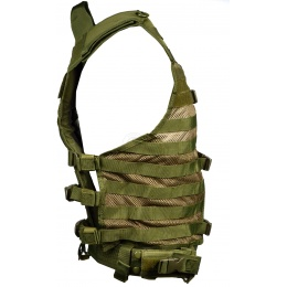 NcStar MOLLE / PALS Modular Tactical Vest - OD Green