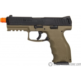 Elite Force H&K VP9 Gas Blowback Airsoft GBB Pistol - BLACK/TAN