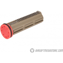 ARES Full Teeth Piston and Piston Head - COYOTE BROWN
