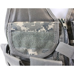 NcStar Airsoft Cross Draw Tactical Vest w/ Holster - ACU