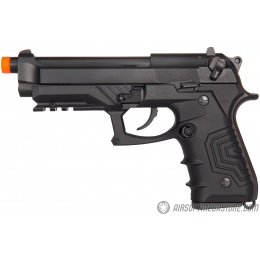 HFC HG-173 M92 CO2 Blowback Semi Auto Airsoft Pistol - BLACK