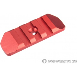 Atlas Custom Works 3-Slot KeyMod Rail - RED