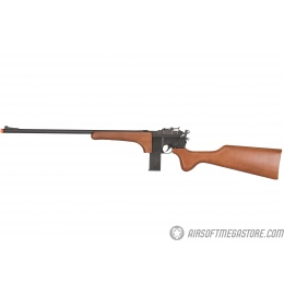 HFC Gas Powered M712 Full Metal Airsoft Sniper Rifle  - BLACK/WOOD