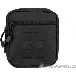Lancer Tactical Laser Cut MOLLE Medical Sundries Bag - BLACK