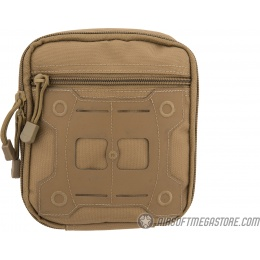 Lancer Tactical Laser Cut MOLLE Medical Sundries Bag - TAN