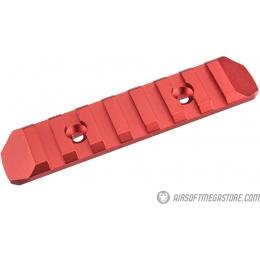 Atlas Custom Works 7-Slot KeyMod Rail - RED