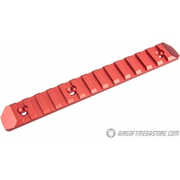 Atlas Custom Works 13-Slot KeyMod Rail - RED