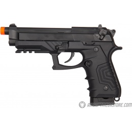 HFC HG-173 M92 CO2 Blowback Semi/Full Auto Airsoft Pistol - BLACK