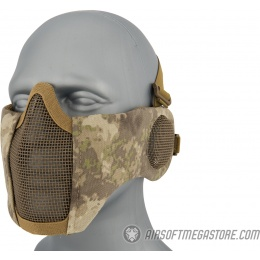 WoSport Tactical Elite Face and Ear Protective Mask - A-TACS