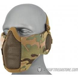 WoSport Tactical Elite Face and Ear Protective Mask - CAMO