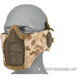 WoSport Tactical Elite Face and Ear Protective Mask - DESERT DIGITAL