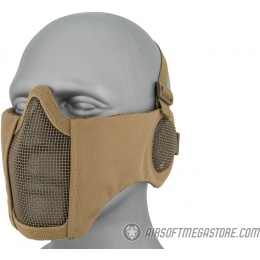 WoSport Tactical Elite Face and Ear Protective Mask - TAN