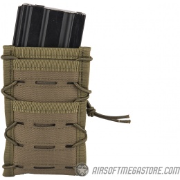 AMA Single High Speed M4 MOLLE Magazine Pouch - OD GREEN