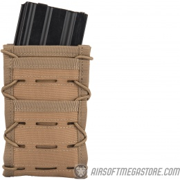 AMA Single High Speed M4 MOLLE Magazine Pouch - TAN