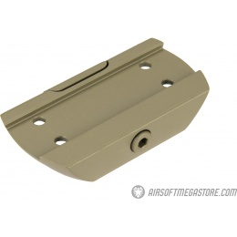 Atlas Custom Works Low Mount for T1 Micro Dot Sights - TAN