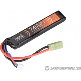 Lancer Tactical 15C 7.4V 1100 mAh Stick Standard LiPo Battery