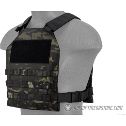Lancer Tactical Standard Issue 1000D Nylon Tactical Vest -  CAMO BLACK