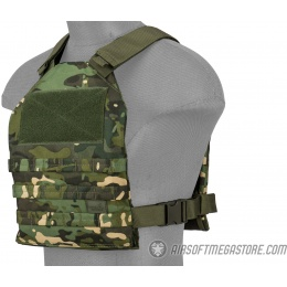 Lancer Tactical Standard Issue 1000D Nylon Tactical Vest (Tropic Camo)