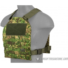 Lancer Tactical Standard Issue 1000D Nylon Tactical Vest - PC GREEN