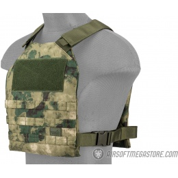Lancer Tactical Standard Issue 1000D Nylon Plate Carrier - FOLIAGE GREEN