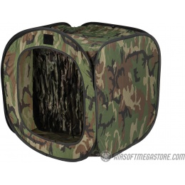PFORCE BB Target Trap Tent - CAMOUFLAGE