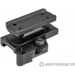 Atlas Custom Works Quick Detach Mount For T1 and T2 - BLACK