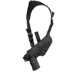 NcStar Tactical Police Shoulder Gun Pistol Holster - BLACK