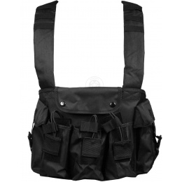 NcStar Tactical 6 Pocket AK Chest Rig - Black